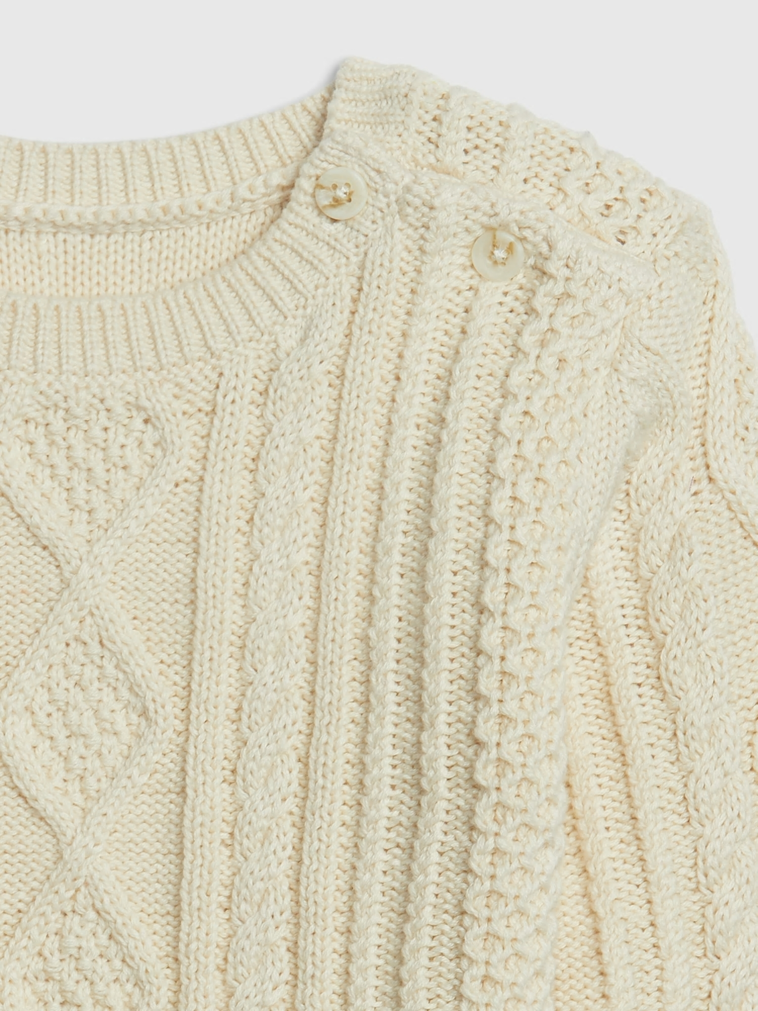 Baby sveter cable knit sweater (3)