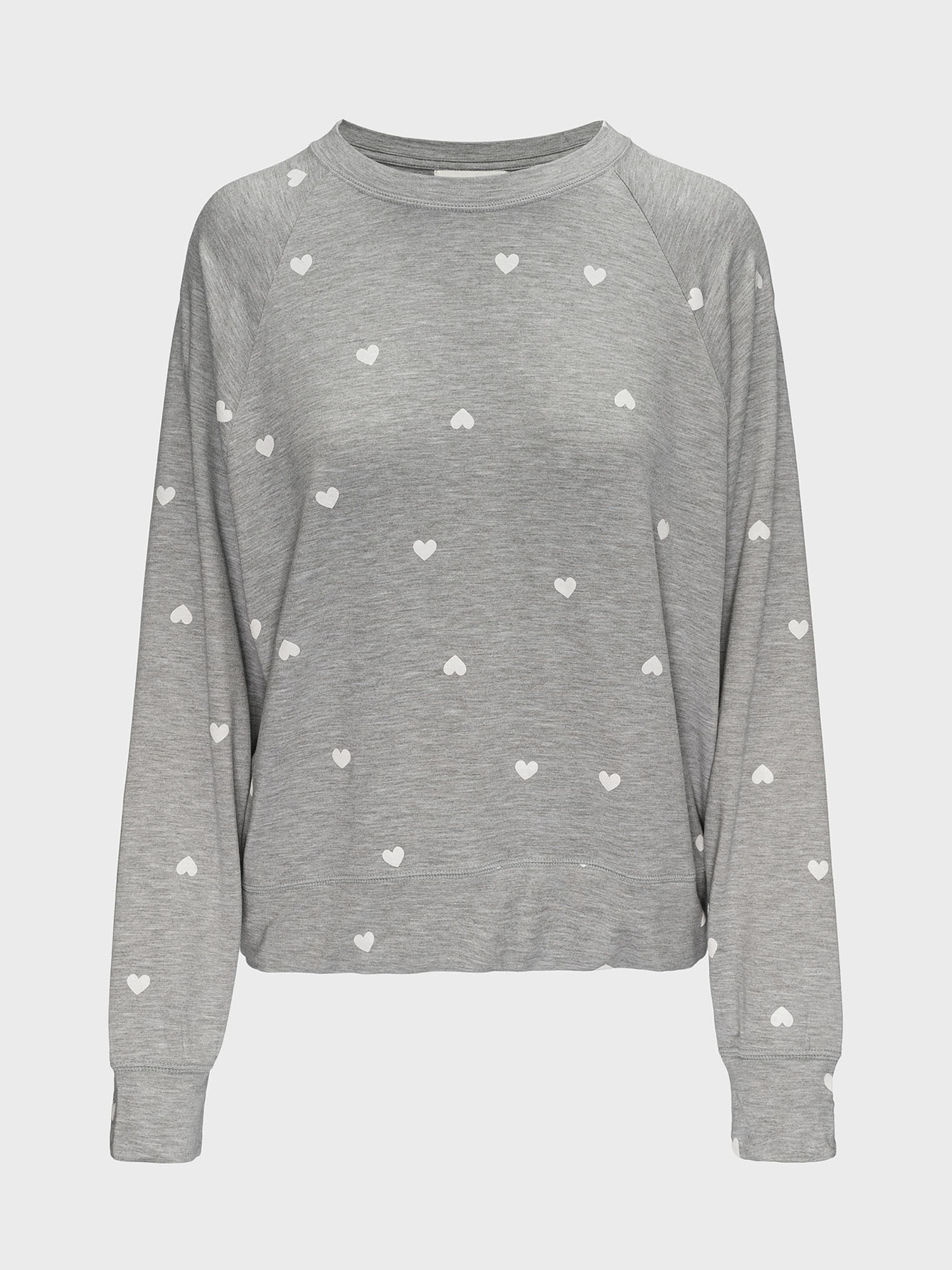 Tričko na spanie supersoft lightweight crewneck (1)