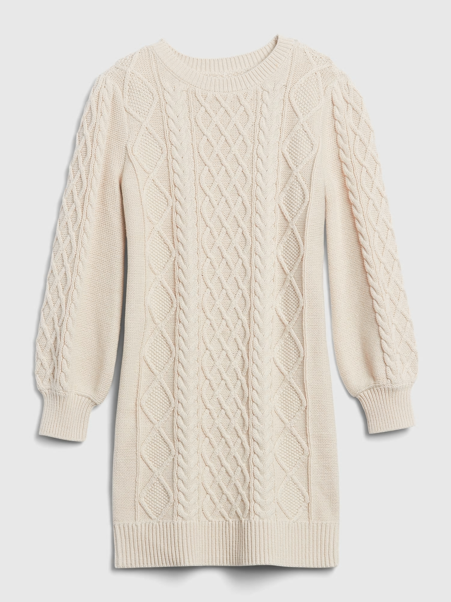 Detské šaty cable knit sweater dress (2)