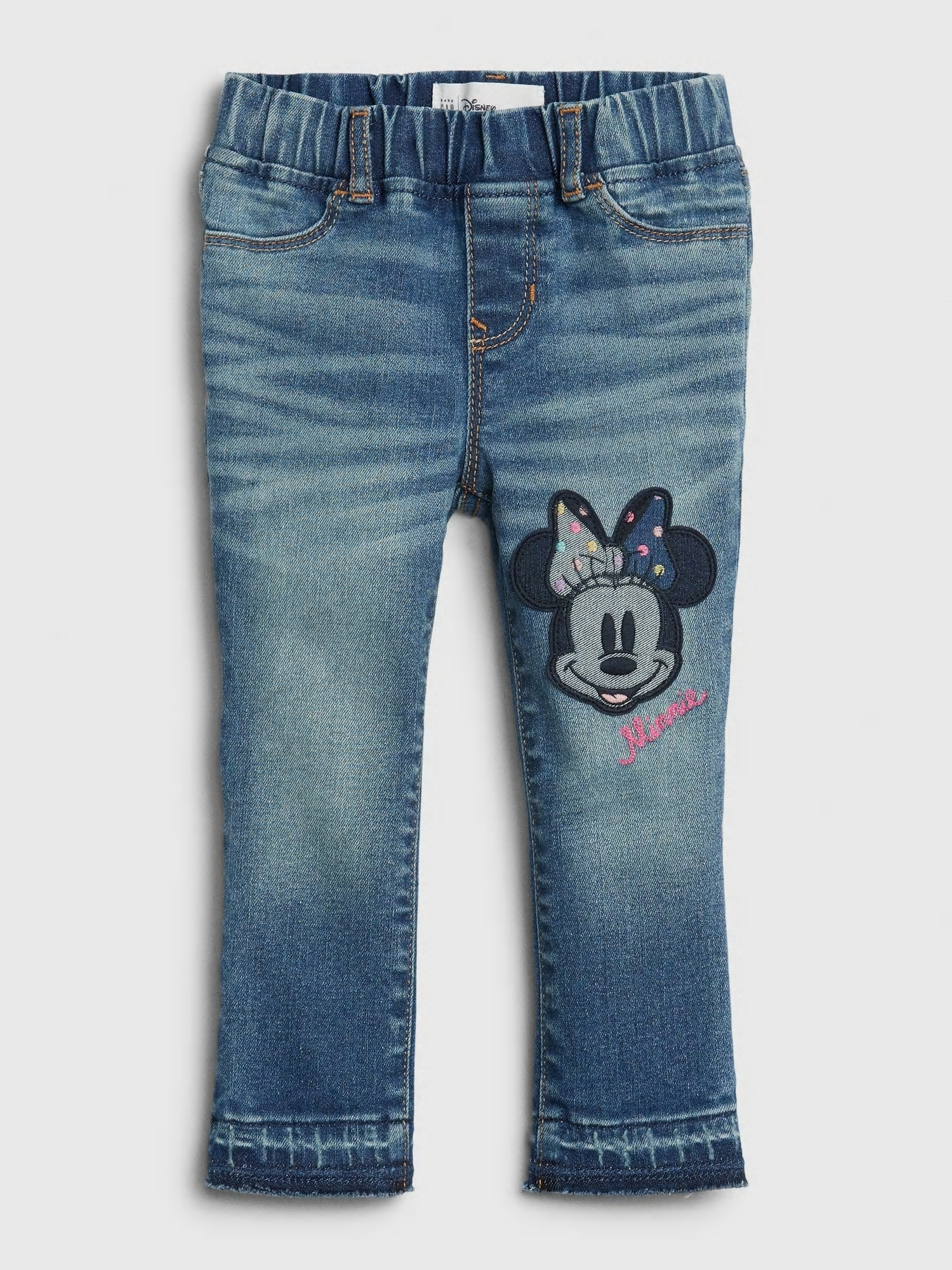 Detské džínsy Disney Minnie Mouse pull-on jeggings (1)
