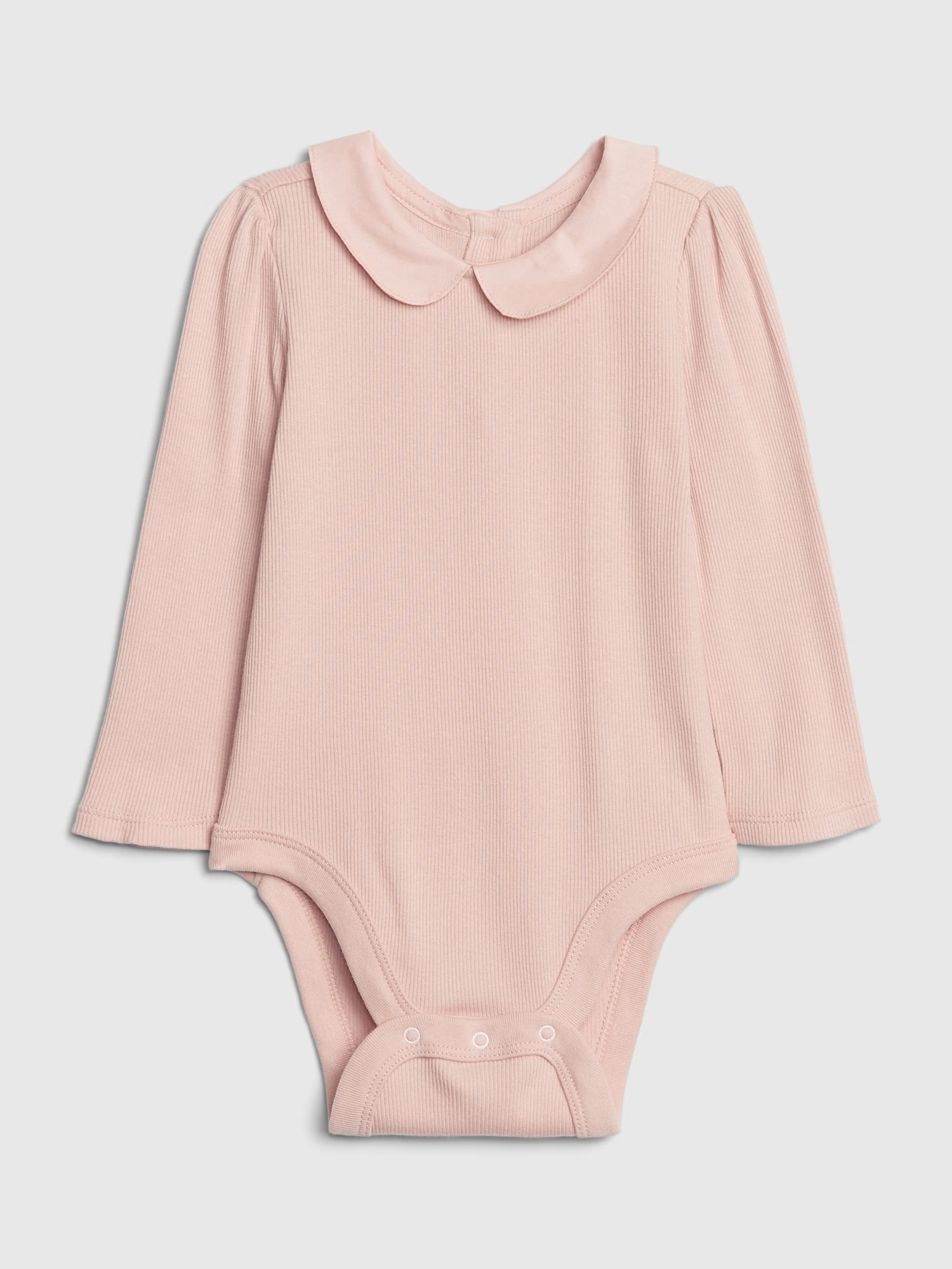 Baby body collar bodysuit (1)