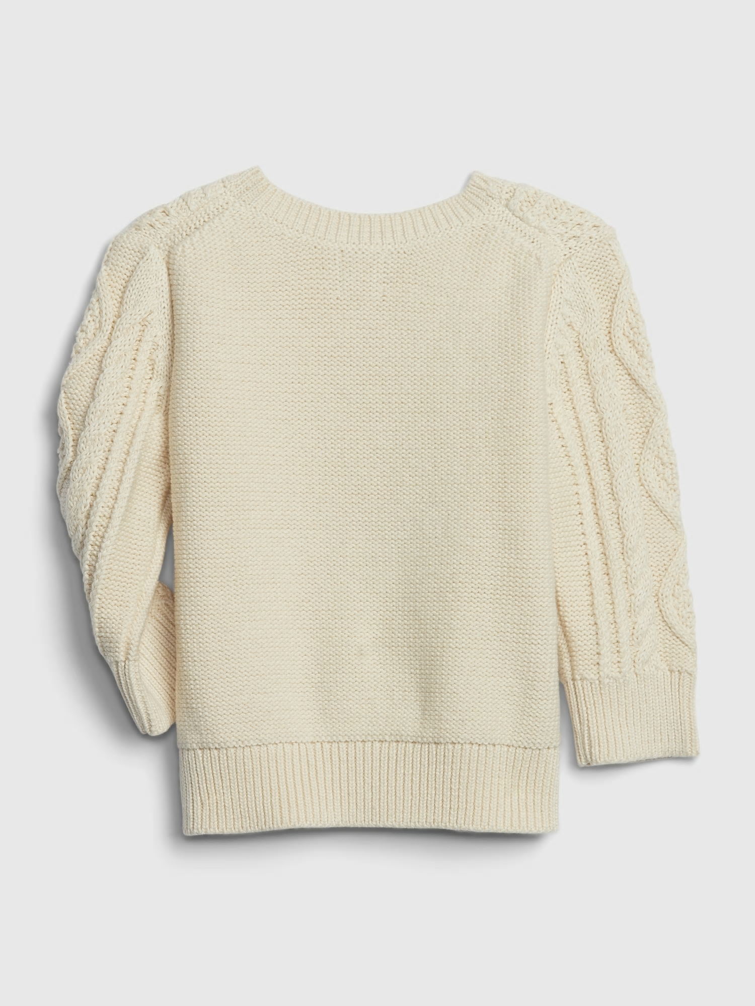 Baby sveter cable knit sweater (2)