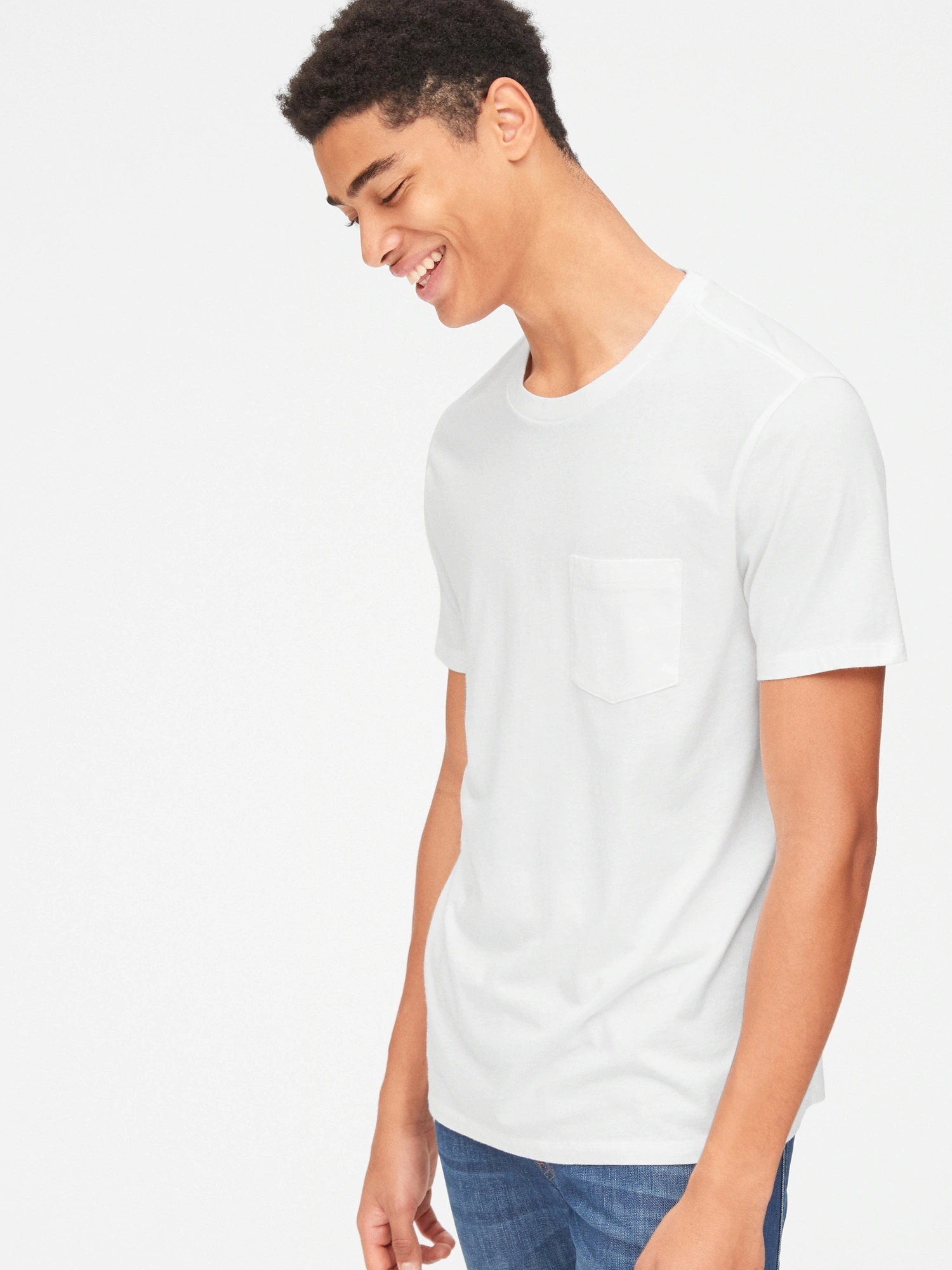 Tričko pocket t-shirt (1)
