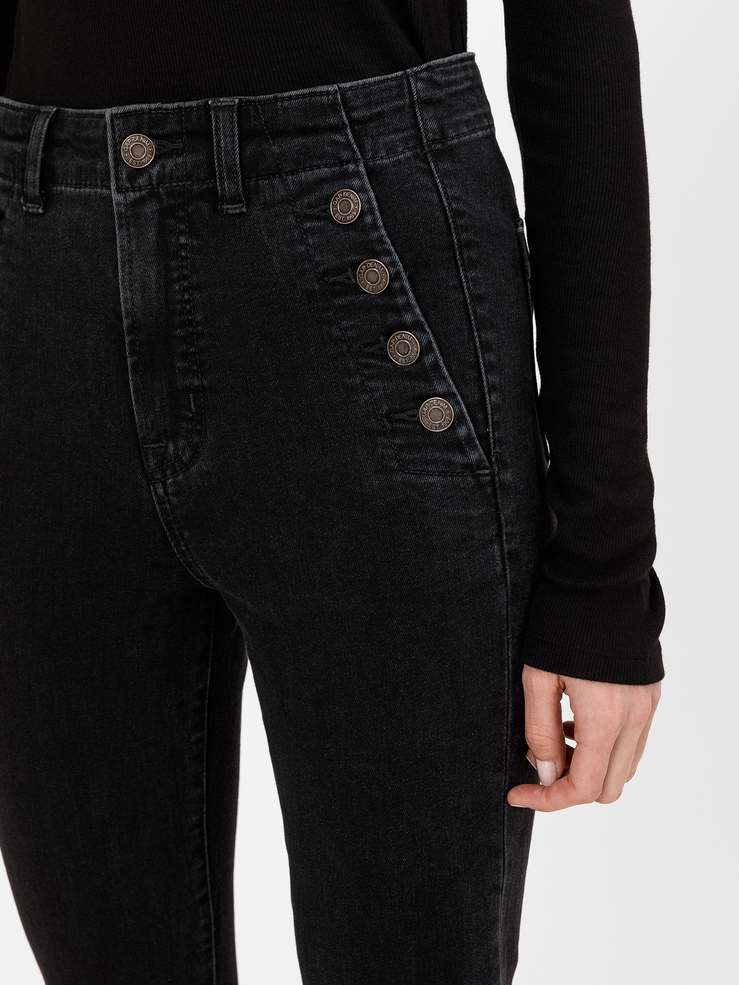 Džínsy high rise true skinny with secret smoothing pockets (4)