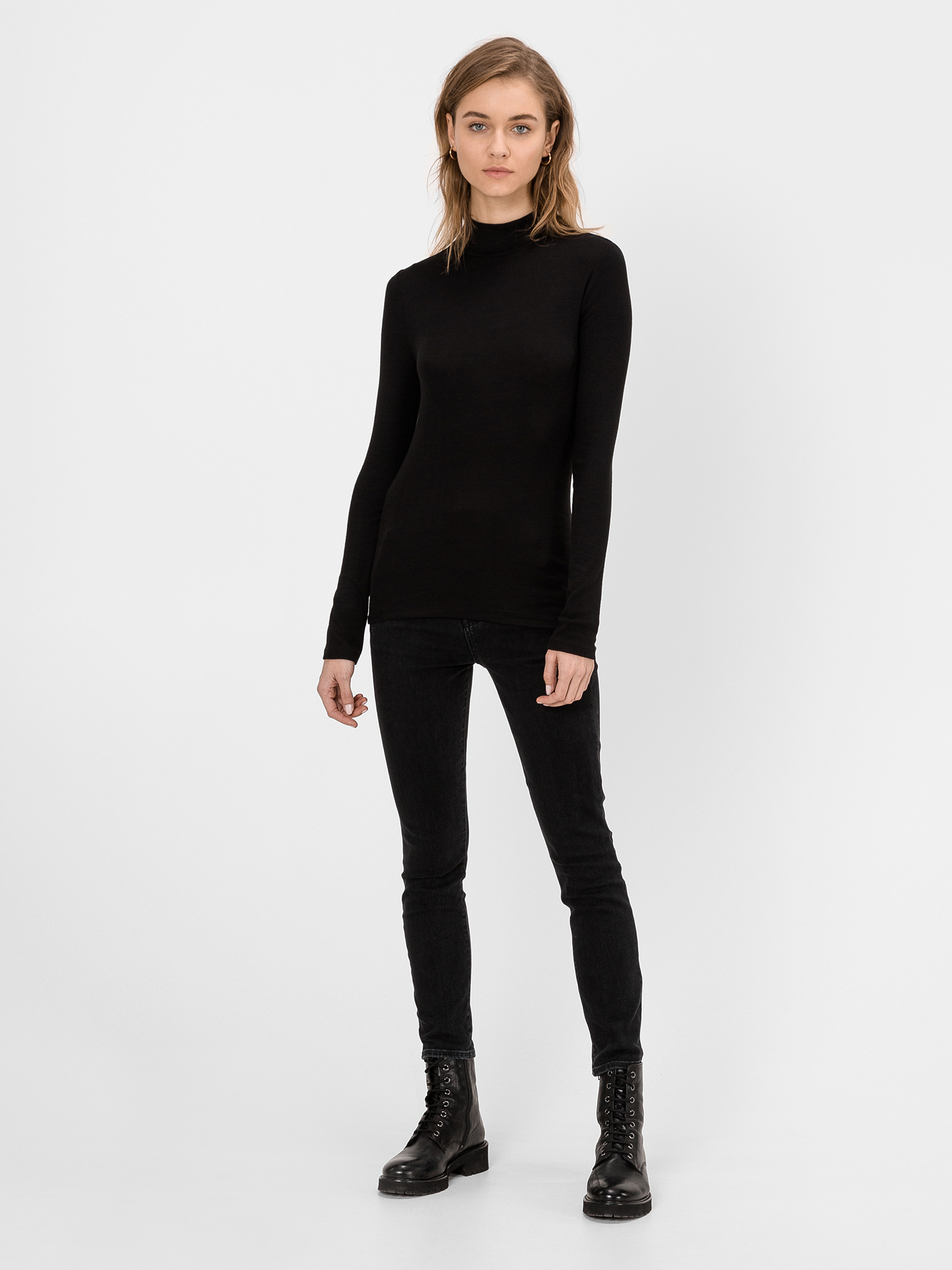 Džínsy high rise true skinny with secret smoothing pockets (1)
