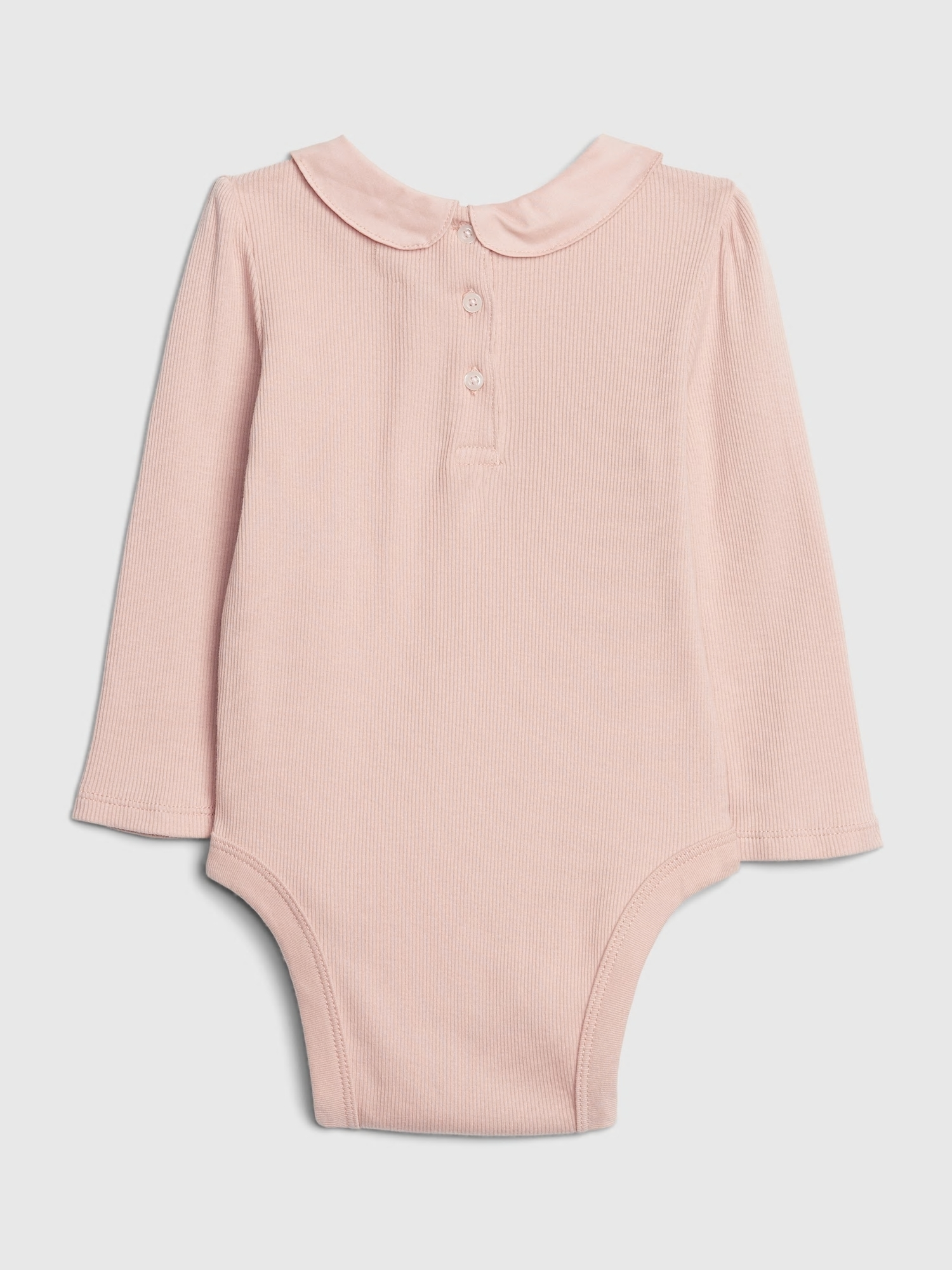 Baby body collar bodysuit (2)