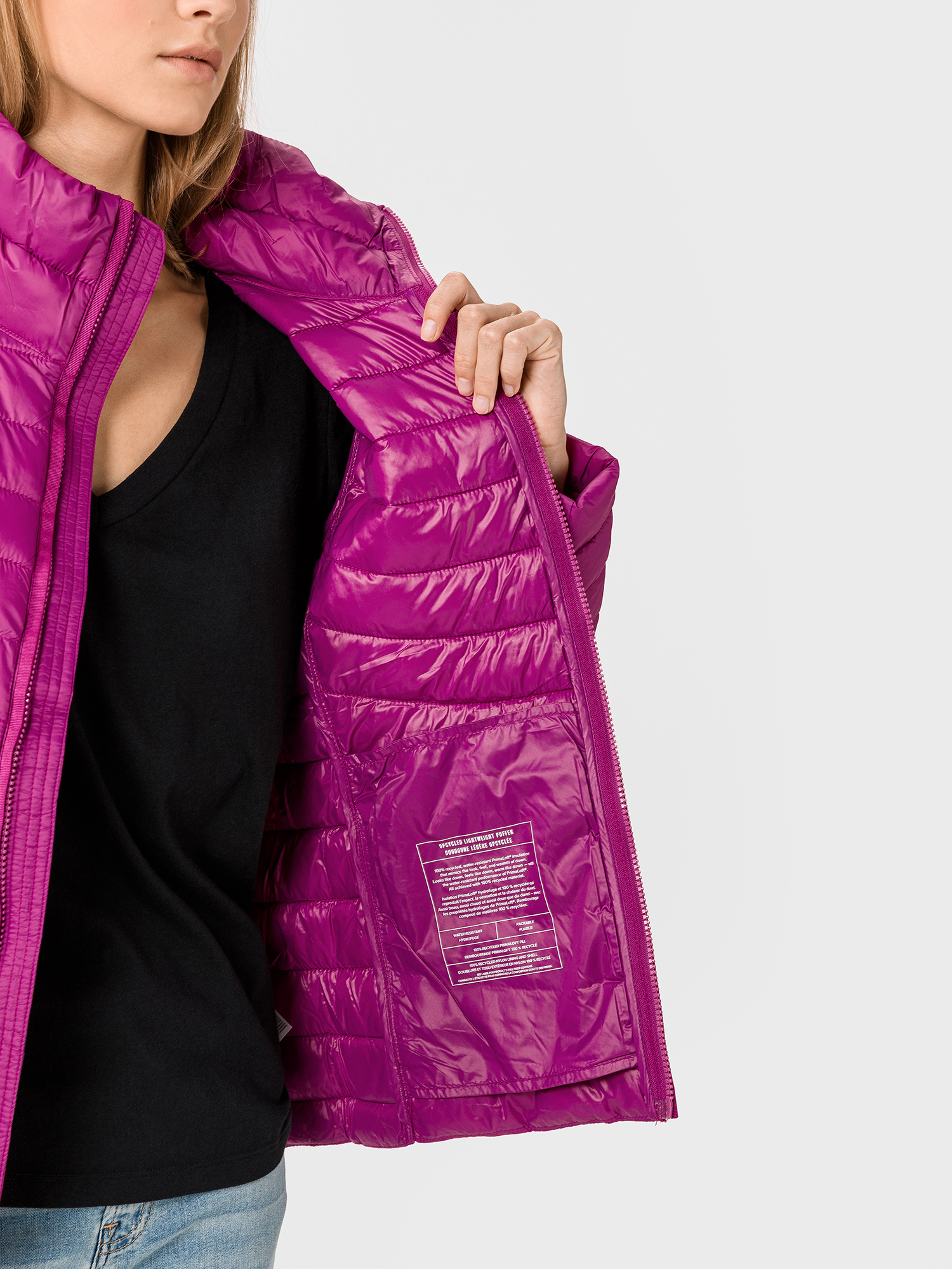 Bunda upcycled lightweight puffer jacket (6)