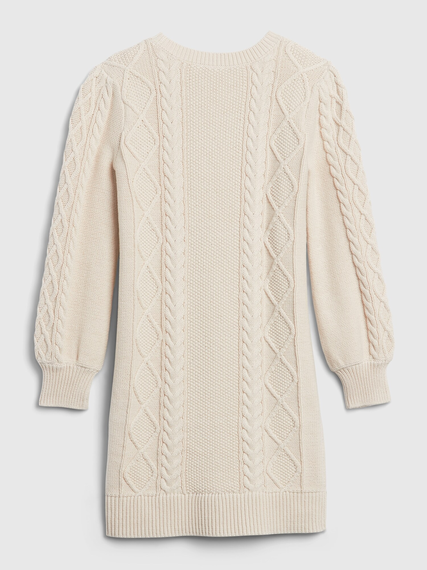 Detské šaty cable knit sweater dress (3)