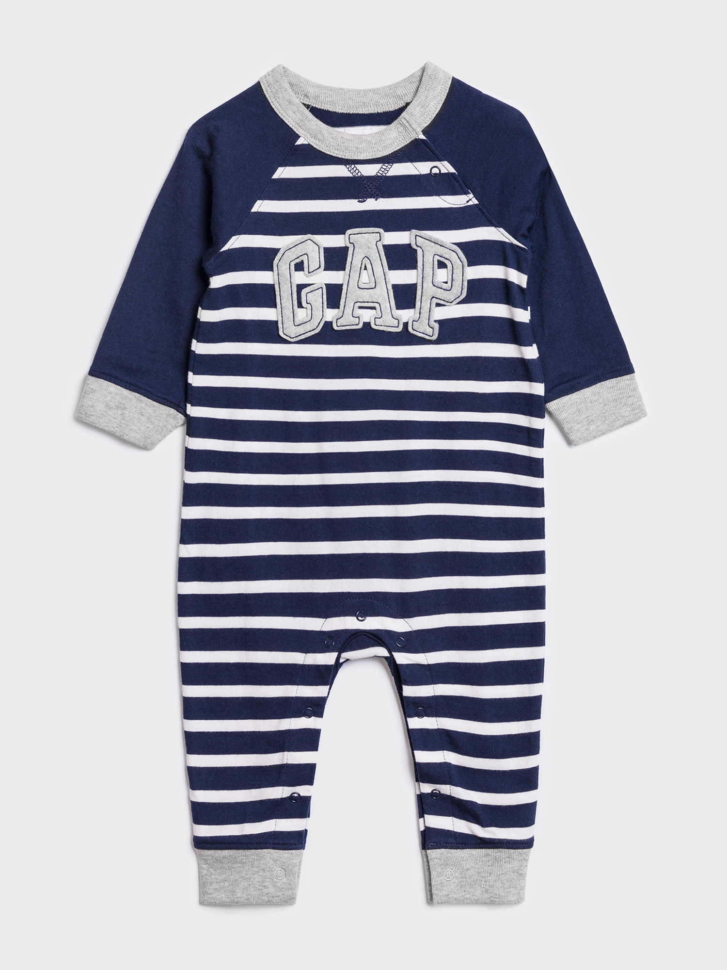 Baby overal GAP Logo one-piece (1)