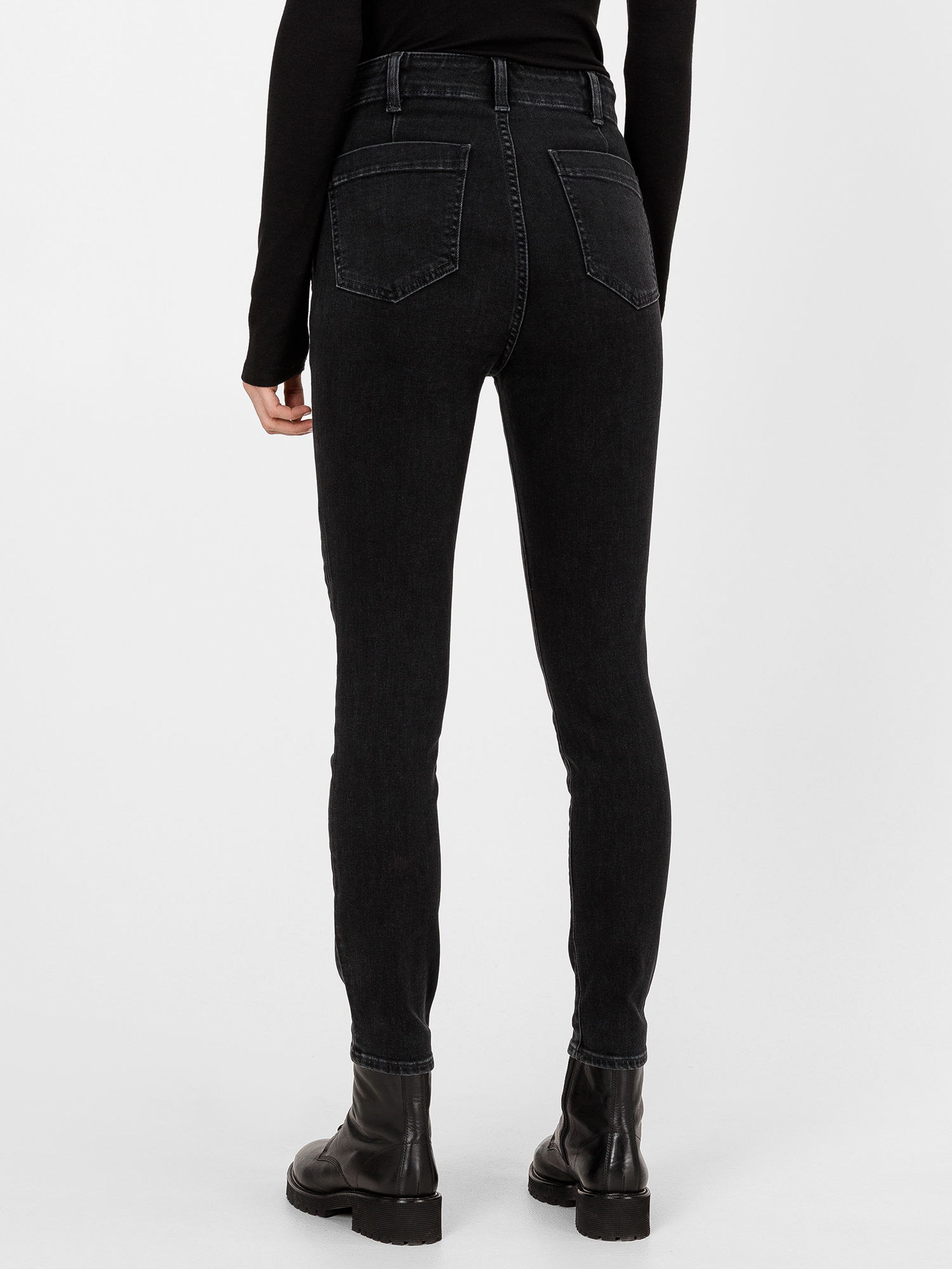Džínsy high rise true skinny with secret smoothing pockets (2)