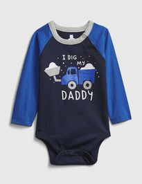 Baby body mix and match graphic bodysuit