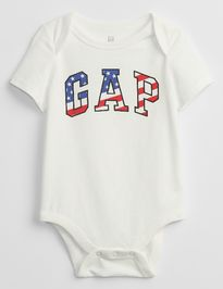 Baby body GAP Logo flag bodysuit