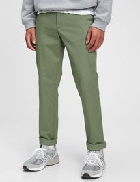 Nohavice modern khakis in slim fit with GapFlex