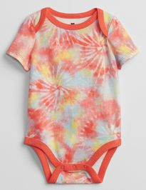 Baby body mix and match tie-dye bodysuit