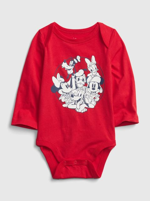 Baby body Disney Mickey Mouse and friends graphic bodysuit