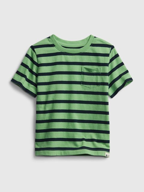 Detské tričko organic mix and match stripe t-shirt