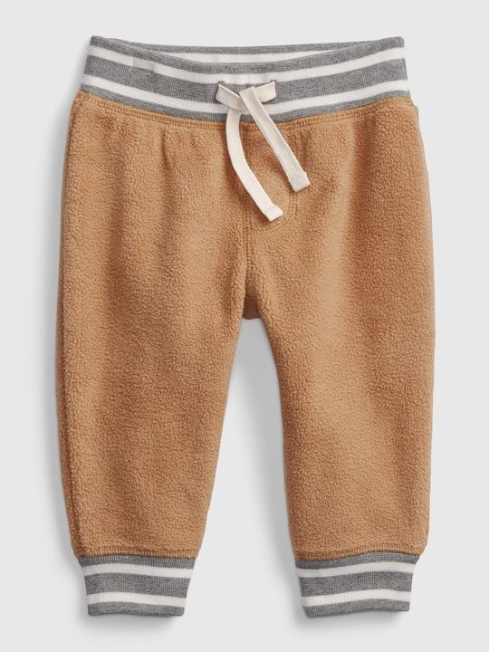 Baby nohavice cozy knit pull-on pants