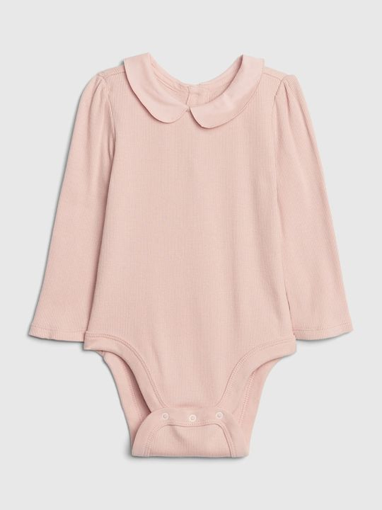 Baby body collar bodysuit